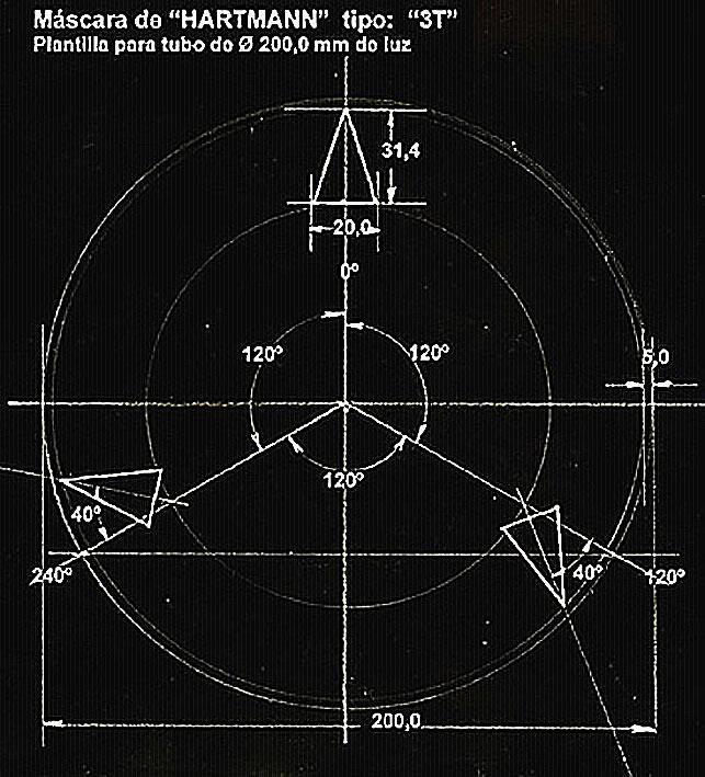 HARTMANN MASCARAS de ENFOQUE - ASTRONOMÍA PRÁCTICA y EXPERIMENTAL ...